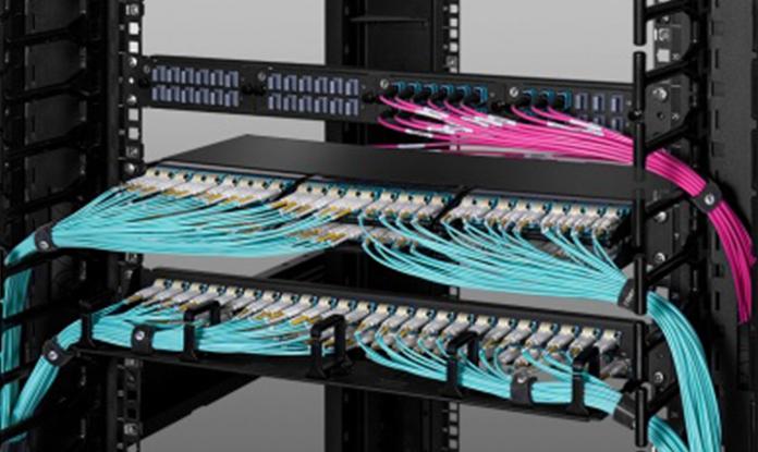 Combinador / demultiplexador de seis ondas CWDM
