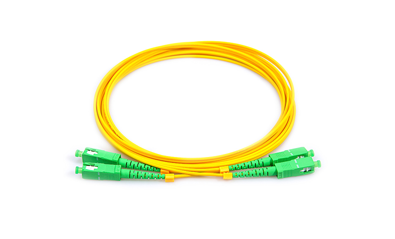 Patchcord SC / APC-LC / UPC DX SM 3 mm